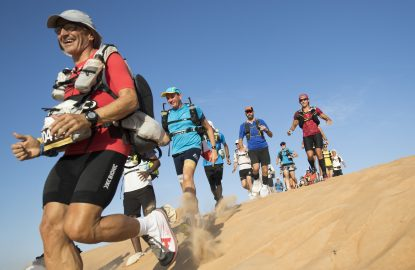 The 2018 Oman Desert Marathon. Day6 and the final stage of racing Photo credit - Lloyd Images