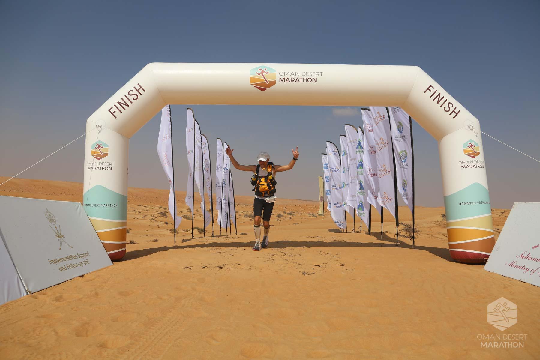Oman Desert Marathon 2019 Stage 4 Oman Desert Marathon